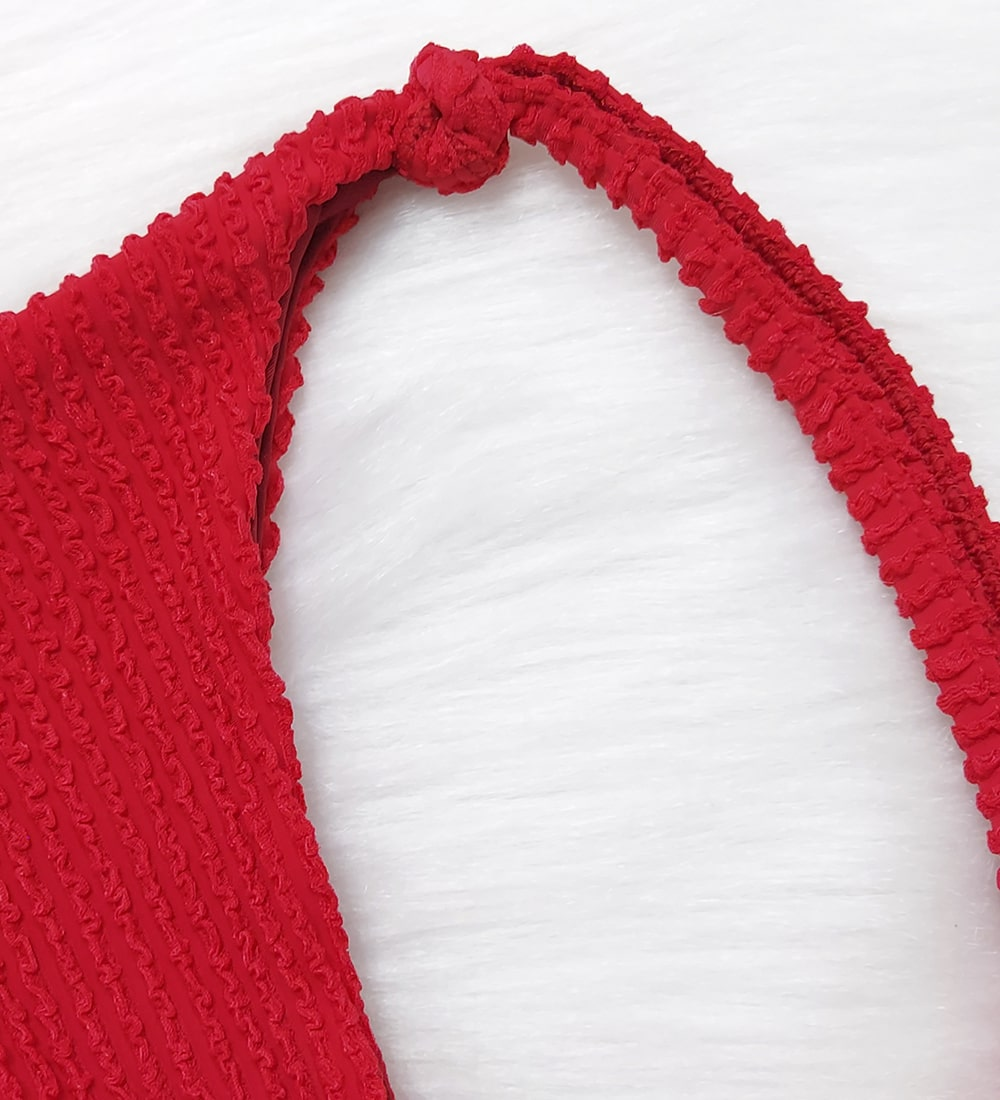 Calcinha Lacinho Glacial - Vermelho