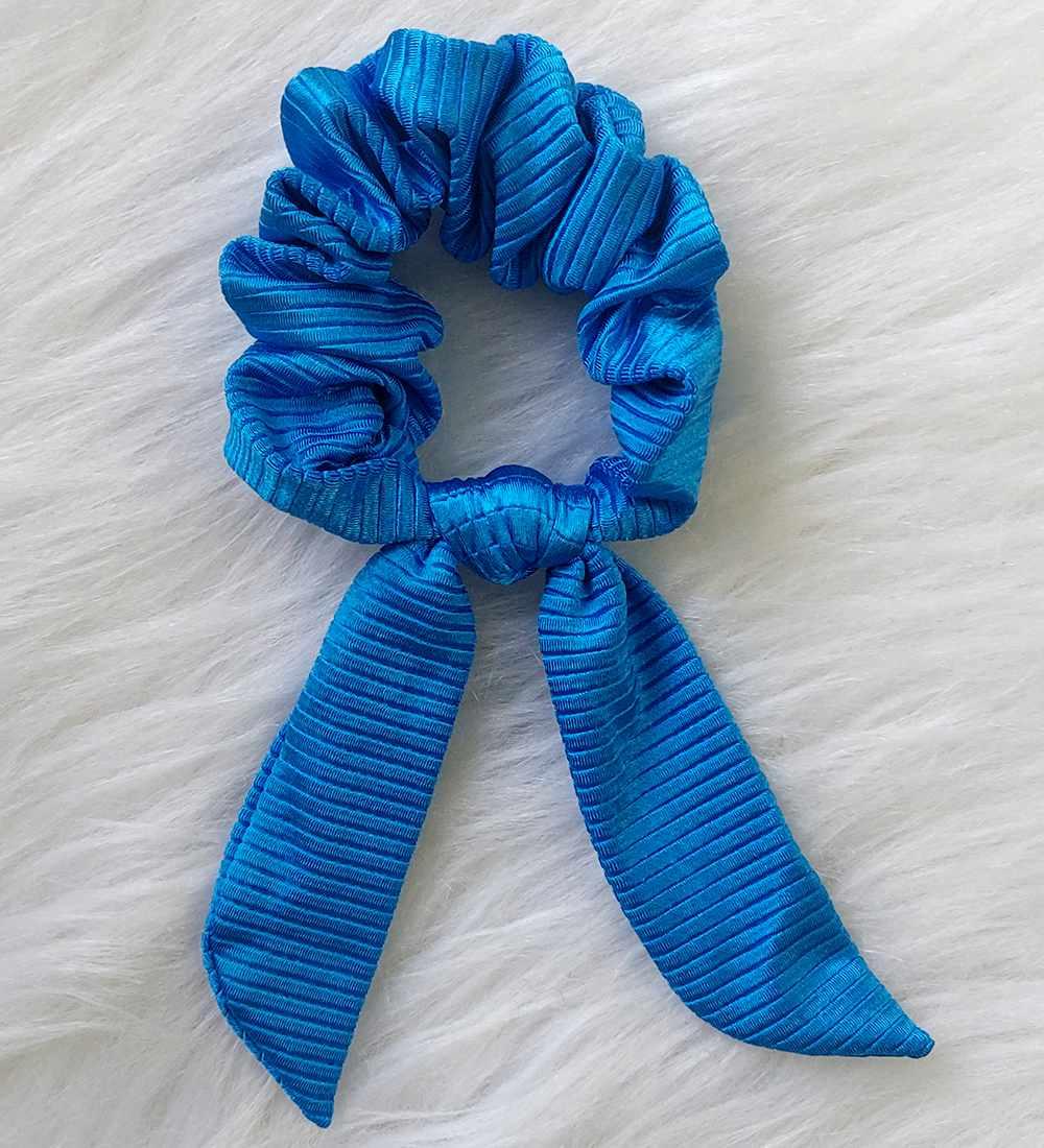Scrunchies - Azul Diamante