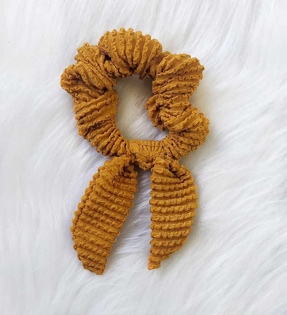 Scrunchies - Mostarda