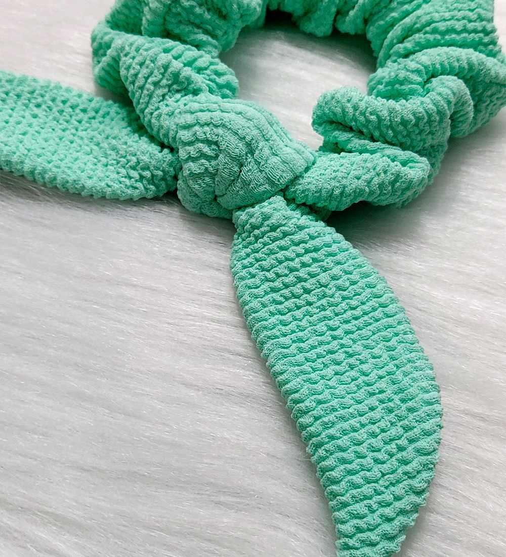 Scrunchies - Verde Água