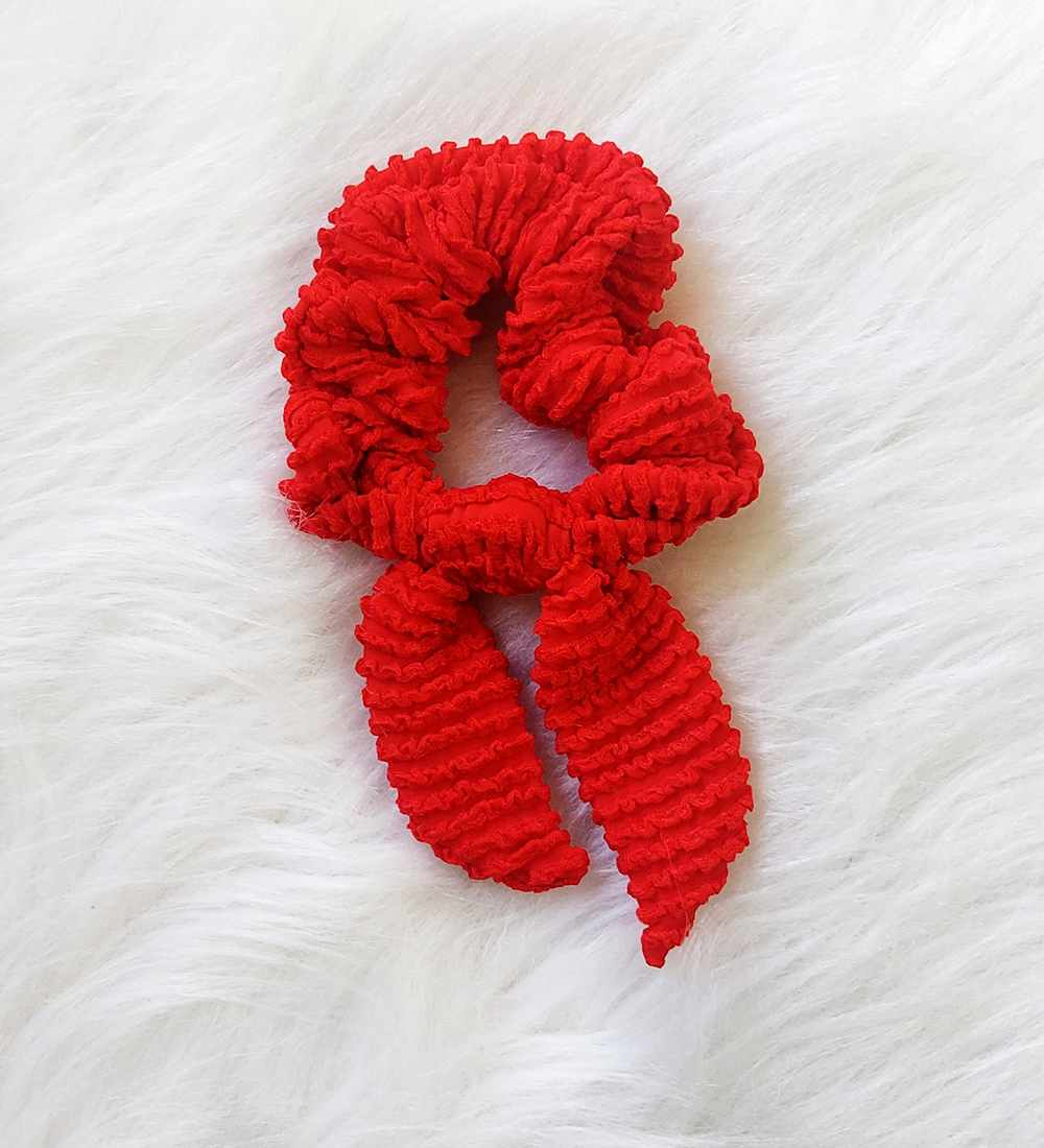 Scrunchies - Vermelho
