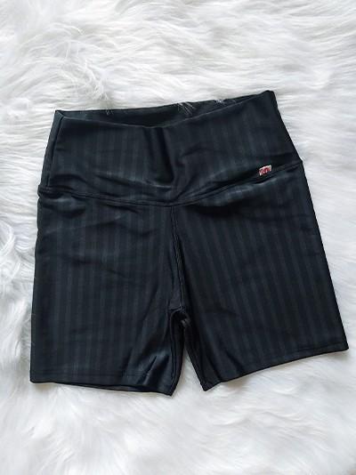 Shorts em Poliamida 3D - Preto