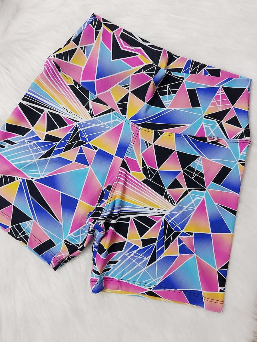 Shorts Estampado - Colorido