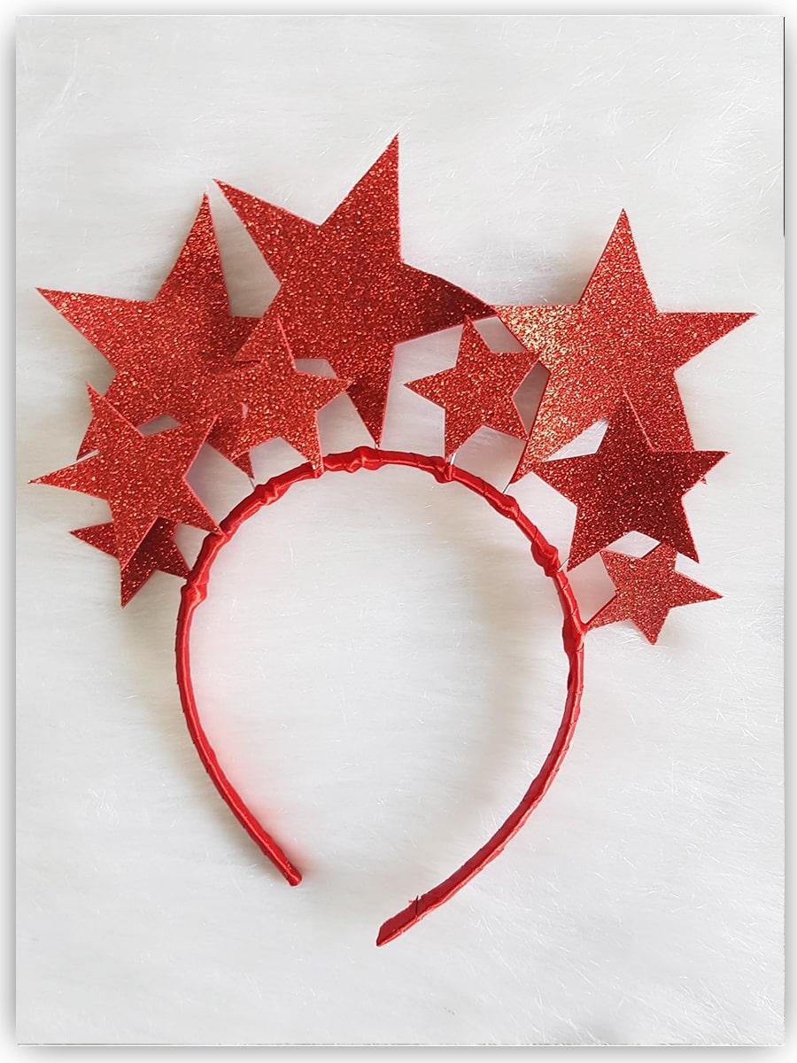 Tiara Estrela Vermelha - Carnaval - 2021