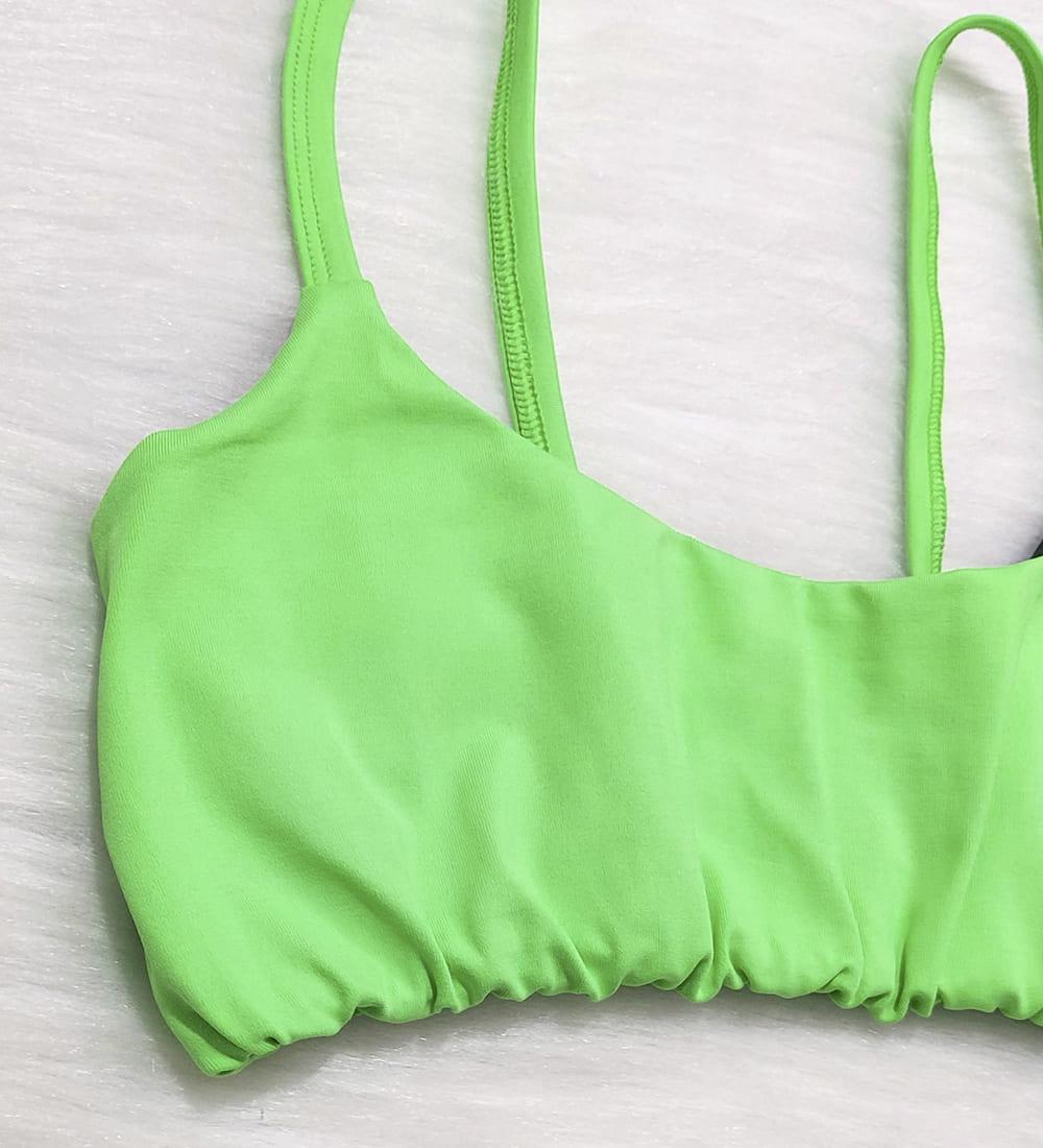 Top Alcinha Basic - Verde Neon