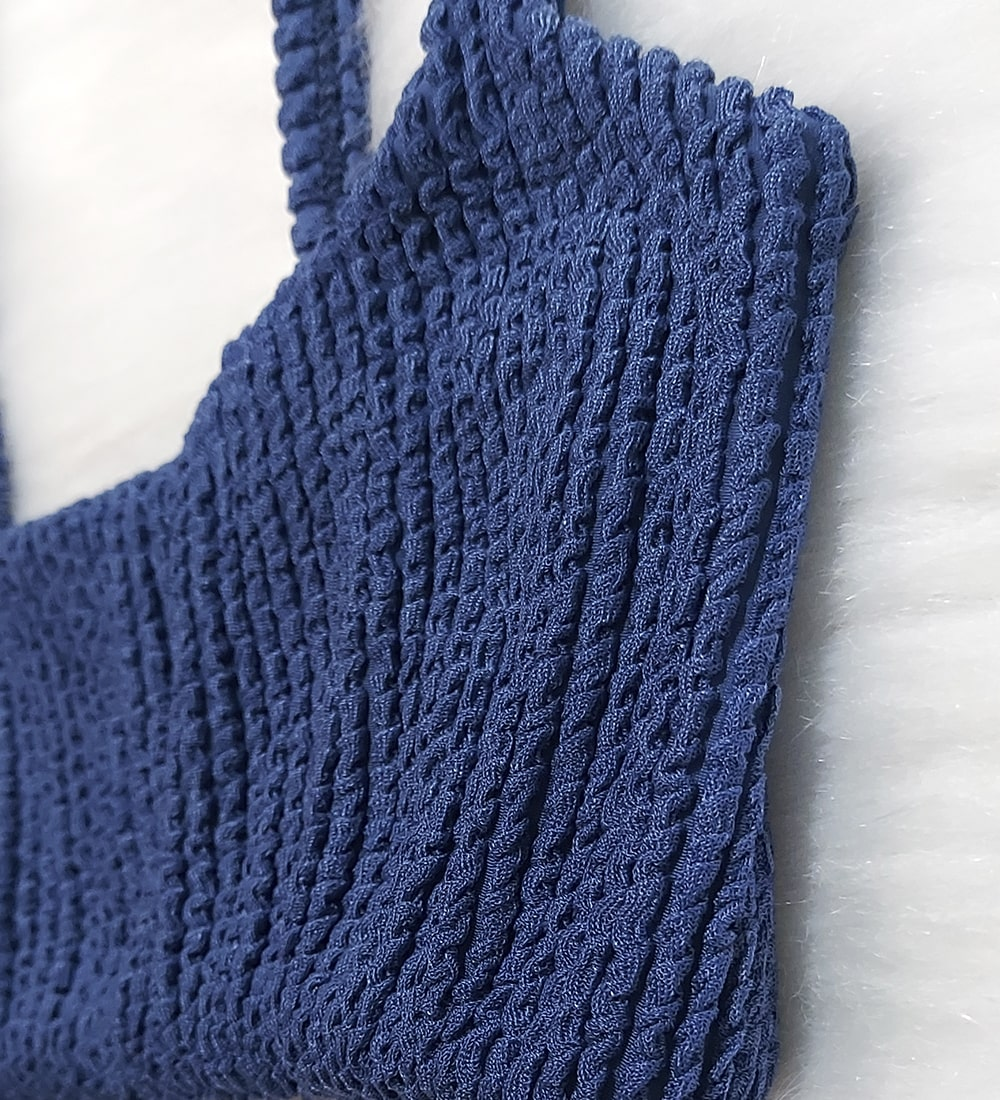 Top Alcinha Glacial - Azul Jeans