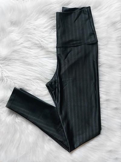 Top Fitness e Calça Legging Poliamida 3D - Preto