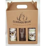 Kit Presente Morcego IPA Forte Clara: 1 garrafa + 1 lata + 1 copo