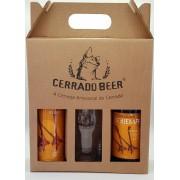 Kit Presente Seriema German Pilsner: 1 garrafa + 1 lata + 1 copo