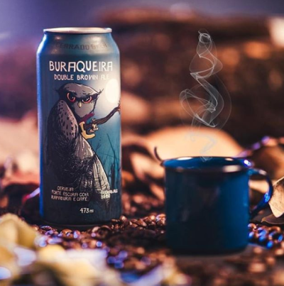 Kit Buraqueira Double Brown Ale com 3 latas