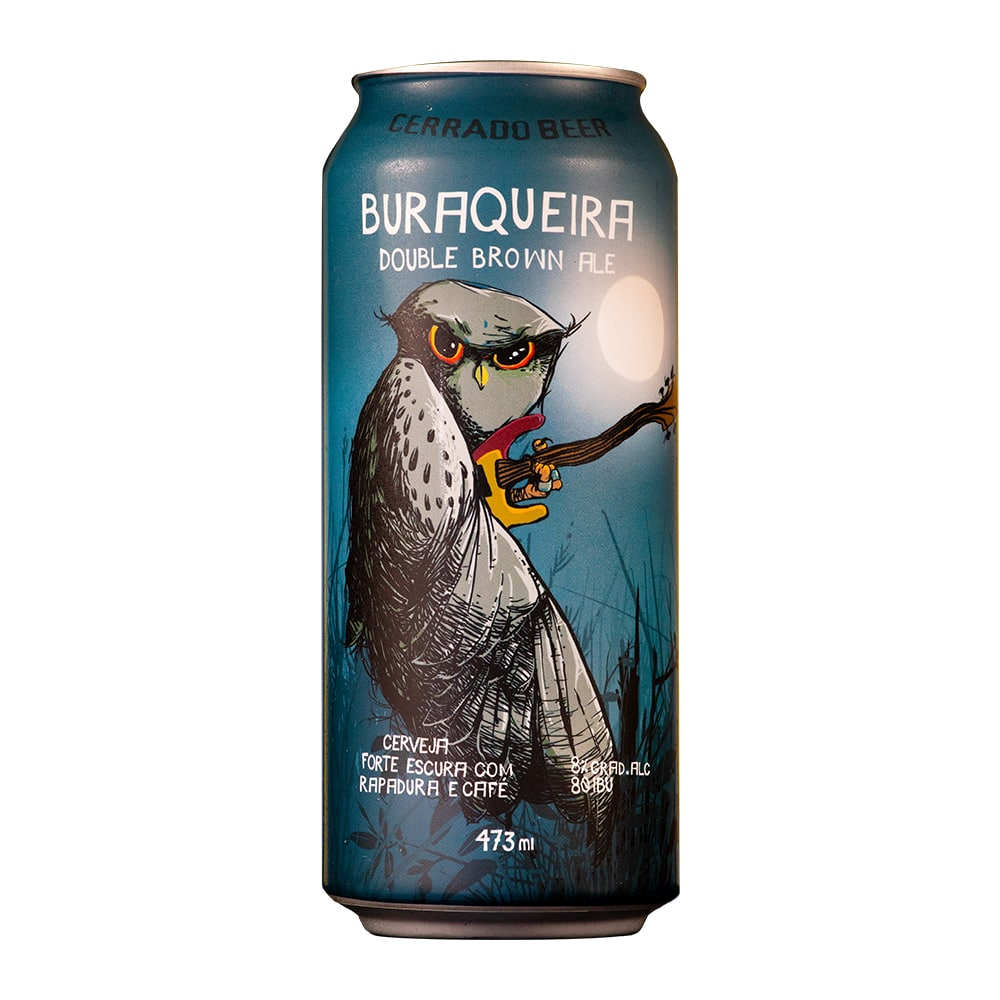 Kit Buraqueira Double Brown Ale com 6 latas