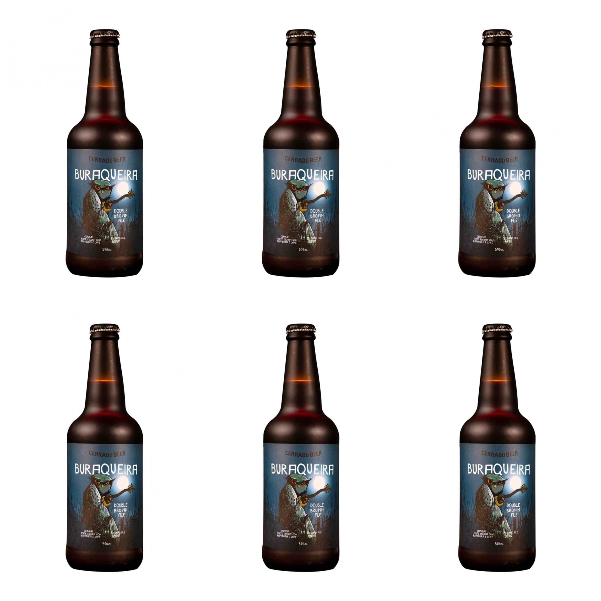 Kit Buraqueira Double Ipa Brown Ale com 6 Garrafas