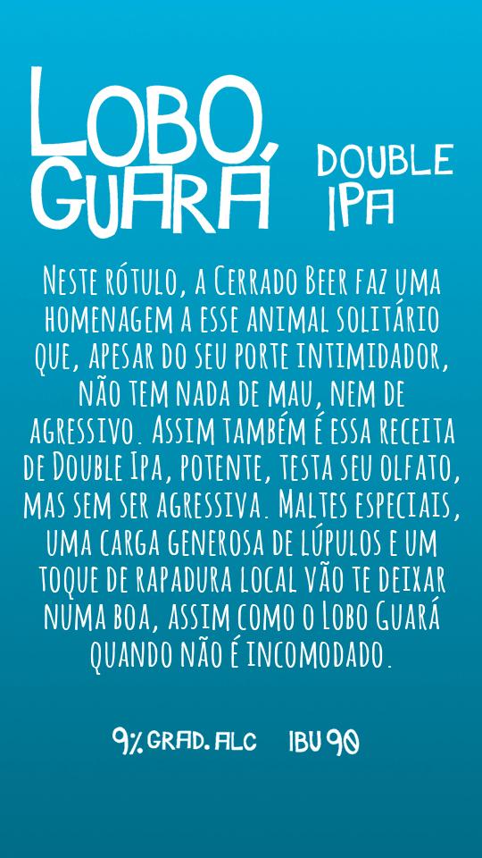 Lobo Guará Double Ipa 500ml