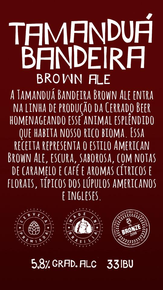 Tamanduá Bandeira Brown Ale 500ml