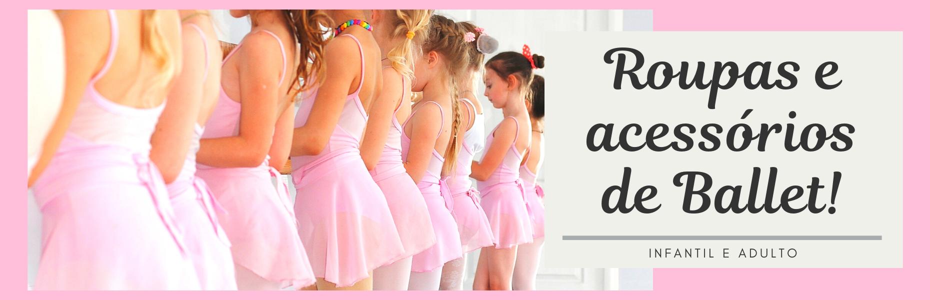 Roupas e acessórios para Ballet - Festas e Fantasias