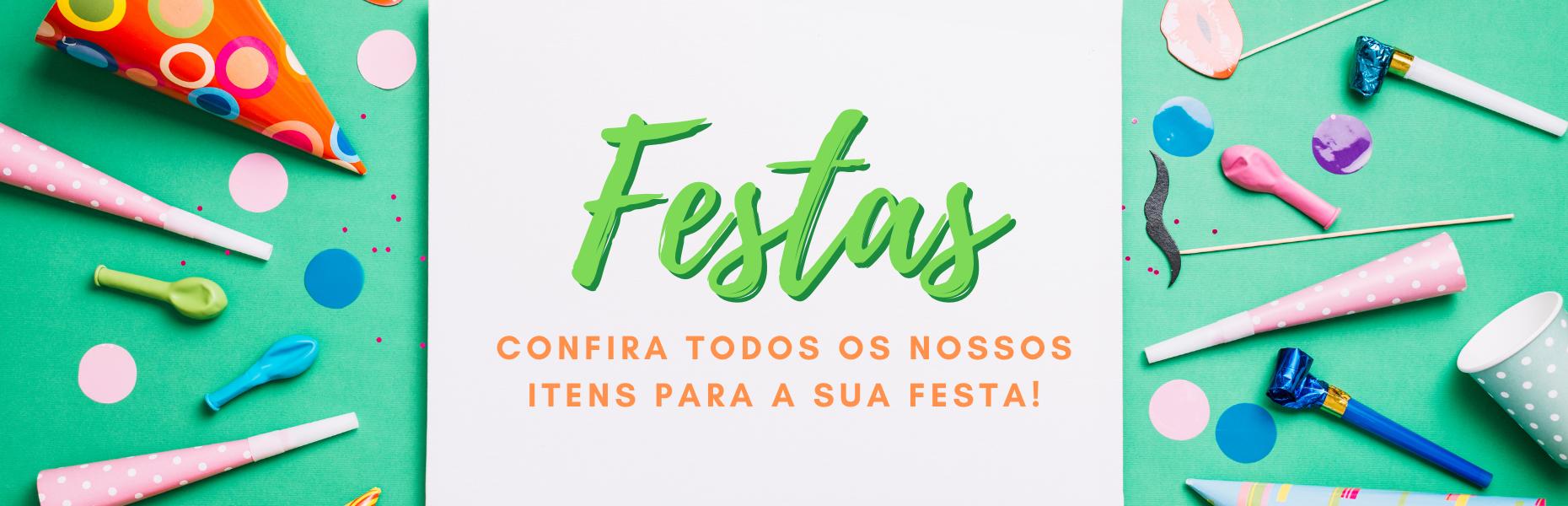 Artigos para festas - Festas e Fantasias