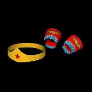 Acessórios Tiaras e Braceletes Wonder Woman