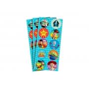 Adesivo Decorativo Redondo 3 Cartelas Toy Story 4