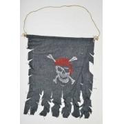 Bandeira  Pirata Rasgada