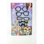 Cartela Palito Oculos E Bigode