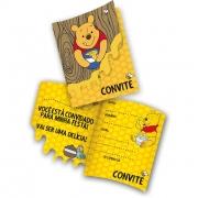 Convite Winnie The Pooh