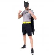 Fantasia Batman Adulto Curto