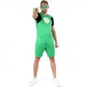 Fantasia Lanterna Verde Adulto Curto