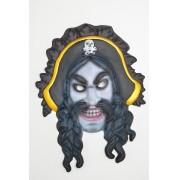 Mascara Pirata Trança E.V.A.