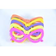 Óculos Pct Com 10 Plástico Colorido Gatão