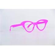 Óculos Pct Com 10 Plástico Colorido Gatinho Gd