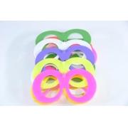 Óculos Pct Com 10 Plástico Colorido Zoião