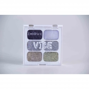 Paleta De Glitter Linha Vibe 6 Cores 01 (1,5G Cada) - Zanphy