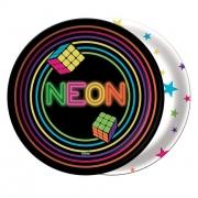 Prato 18Cm  Neon