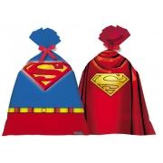 Sacola Plástica 14,5Cm X 25Cm Super Man