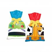 Sacola Plástica De 14 Cm X 27 Cm 8 Unidades Toy Story 4