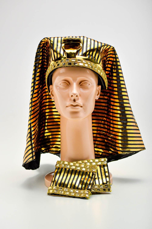 Acessório De Cabeça Faraó Egipcio