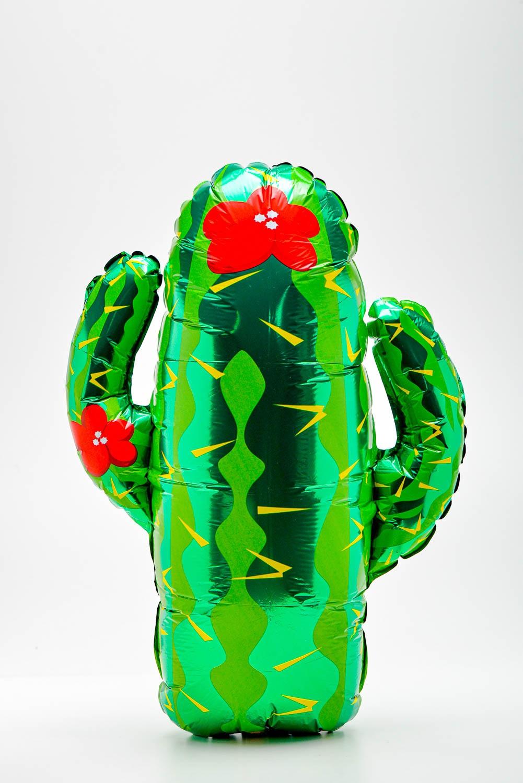 Balão Metalizado Cactus