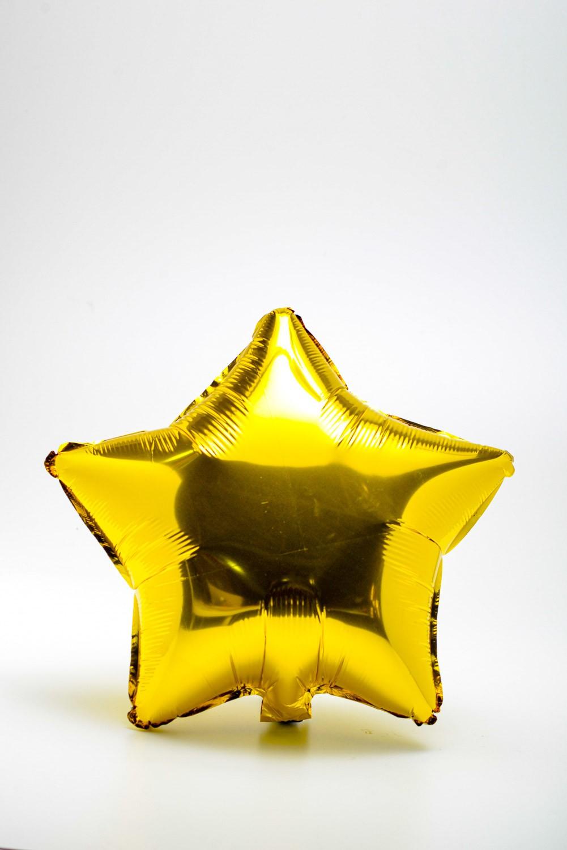 Balão Metalizado Estrela 18''