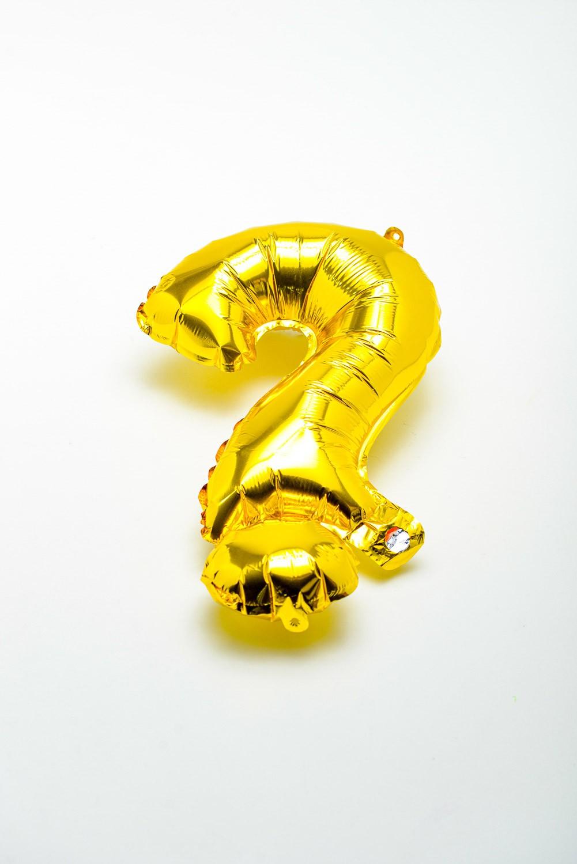 Balão Metalizado Interrogação