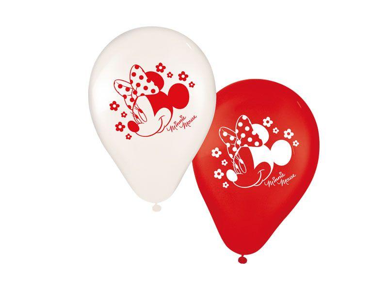 Balão Tamanho 9 Red Minnie