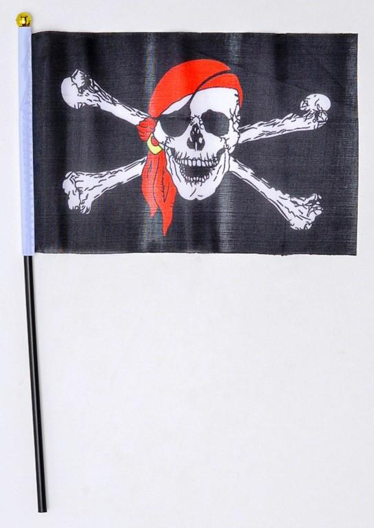 Bandeira Peq Pct C/ 12 Und Pirata