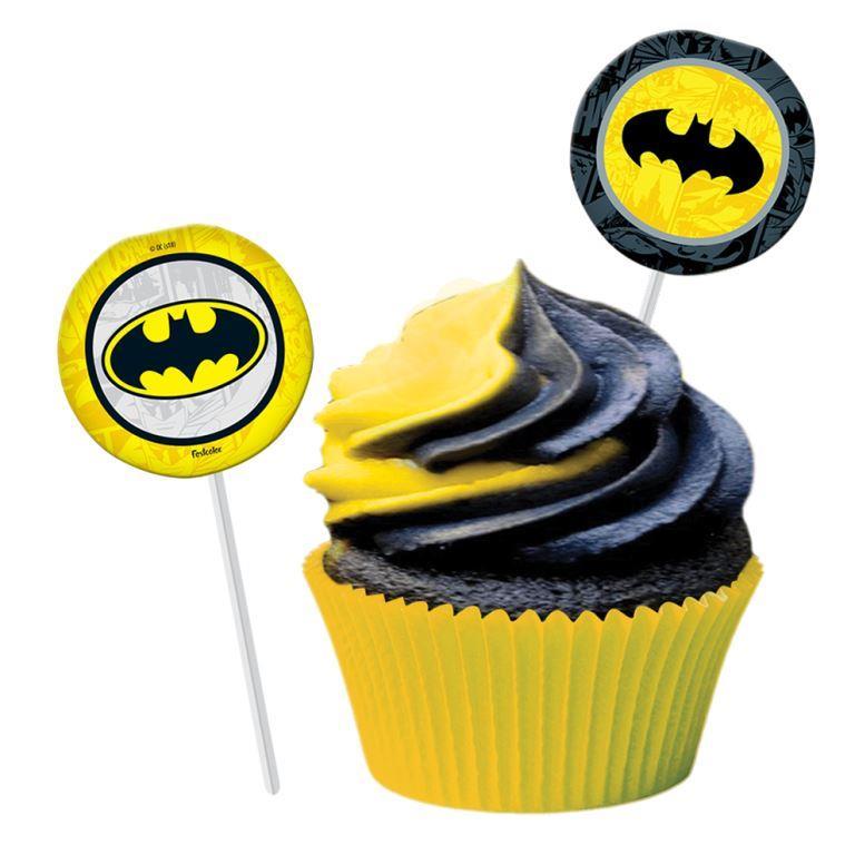 Bandeirinha Para Docinho Batman