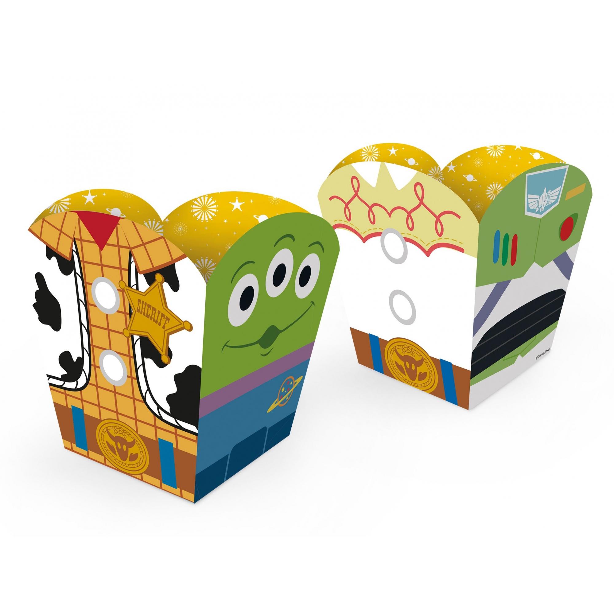 Cachepot Pequeno Com 8 Unidades Toy Story 4