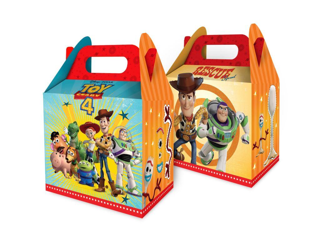 Caixa Surpresa Com 8 Unidades Toy Story 4
