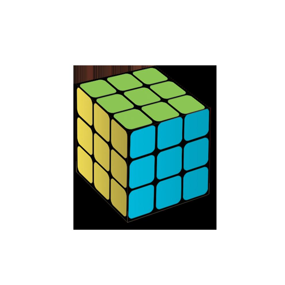 Caixa Surpresa Cubo  7,5Cm X 7,5Cm X 7,5Cm Neon