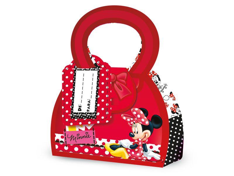 Caixa Surpresa Red Minnie