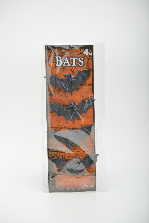 Cartela 4 Peças Morcego