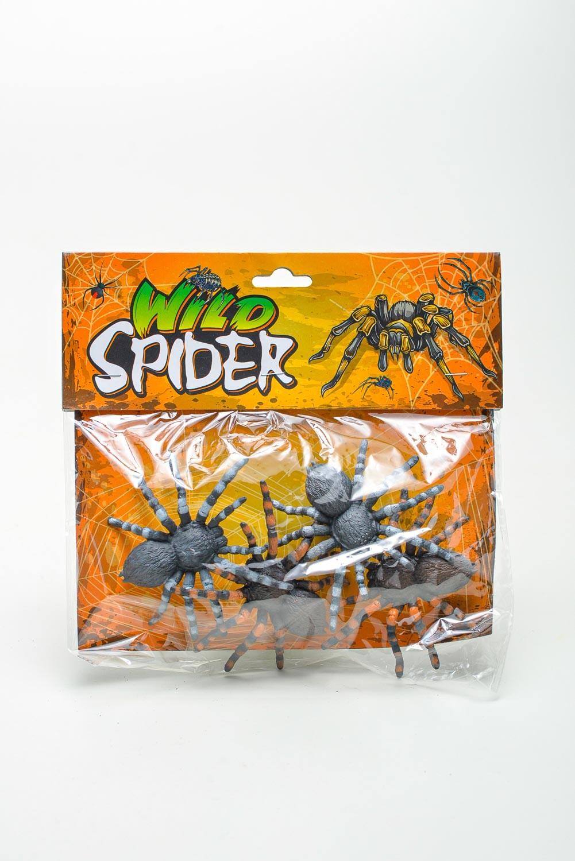 Cartela Aranha C/ 4 Pças