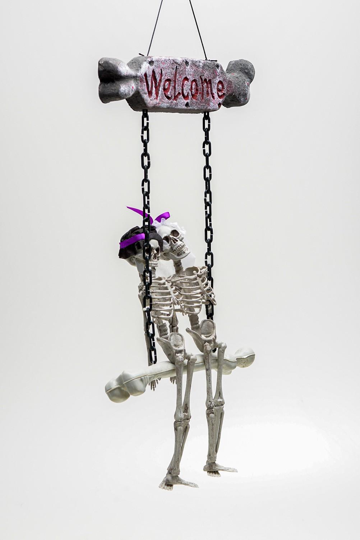 Casal Esqueleto Welcome