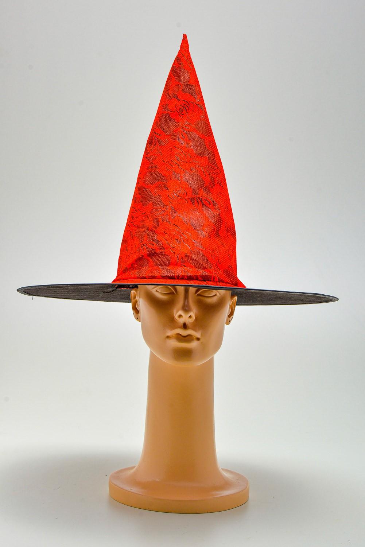 Chapéu Bruxa Renda